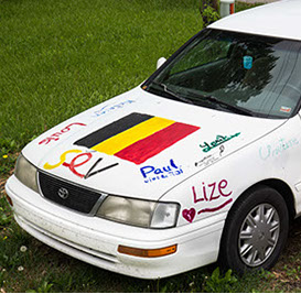 SignMyCar! Belgians Living in the US.